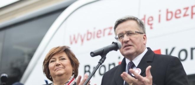 Bronisław Komorowski wybory prezydenckie 2015 kampania wyborcza