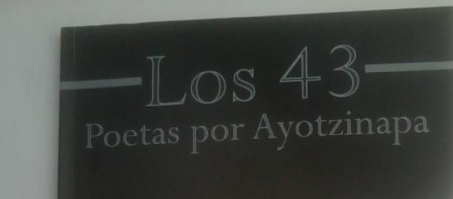 Los 43, Poetas por Ayotzinapa