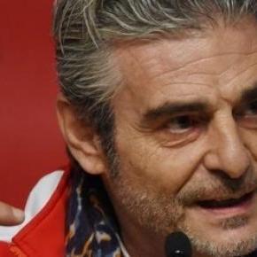 Maurizio Arrivabene az ideális csapatfőnök.