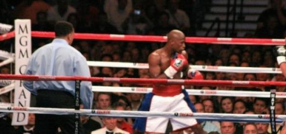 Floyd Mayweather Junior  vs. Marquez