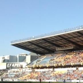Estádio Cidade de Coimbra onde decorreu o jogo