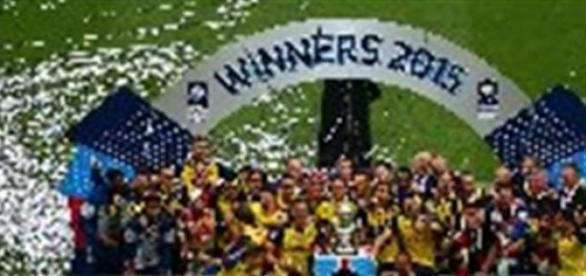 Arsenal defeated Aston Villa in the FA Cup final