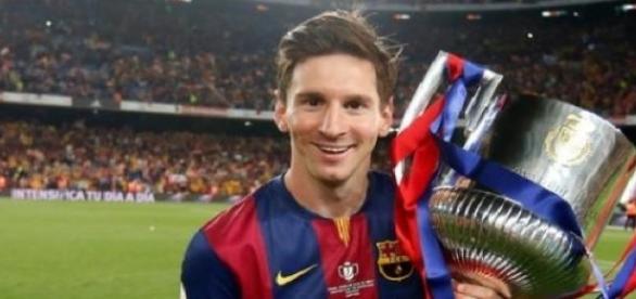 Lionel Messi demuestra su gran talento