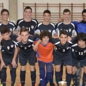 Equipa de futsal do Maia Clube Açores