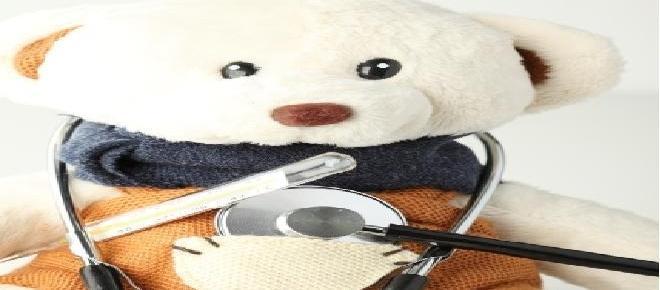 El oso de peluche para bebés