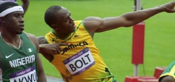 Bolt could not catch the USA in 4x100m relay