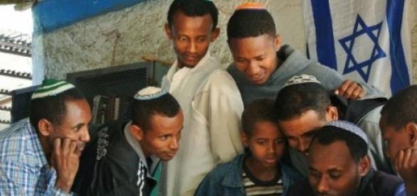 Les juifs éthiopiens ont manifesté à Tel-Aviv.
