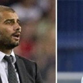 Josep Guardiola e José Mourinho