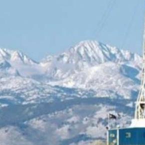 Schiefergasbohrung im US-Bundesstaat Wyoming
