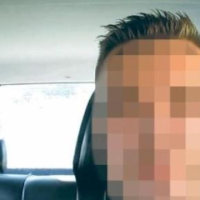 A polgárőr videójából kivágott kép.