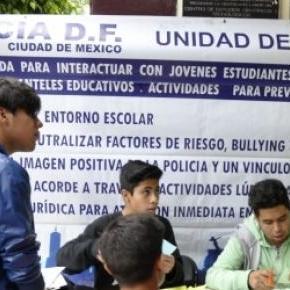 SSPDF informó sobre prevención de delito