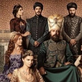 Sułtan Sulejman w otoczeniu rodziny