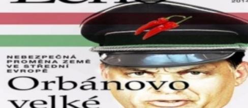 Orbán a cseh Echo magazin címlapján