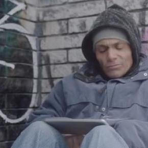 Peter, bezdomny od 8 lat, źródło youtube