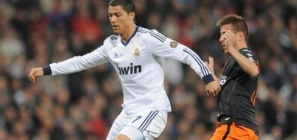 Cristiano Ronaldo não conseguiu vencer o Valência