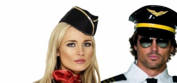 sexy steward & stewardess