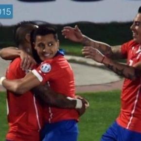 Chile venció dos por cero a Ecuador