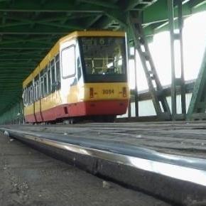 Kolejny pożar mostu Gdańskiego.