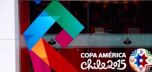 A Copa América realiza-se no Chile até 4 de Julho