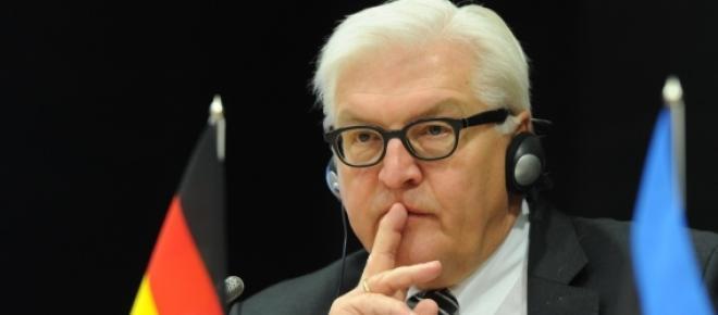 El ministro de Exteriores, Frank-Walter Steinmeier