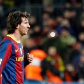 Messi está à frente na corrida à Bola de Ouro.