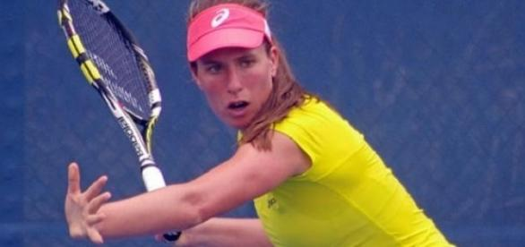 Johanna Konta was defeated in the quarter-finals