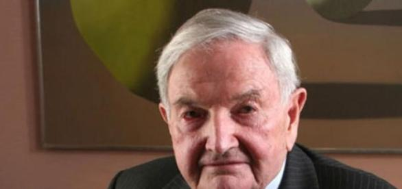 Super masonul David Rockefeller