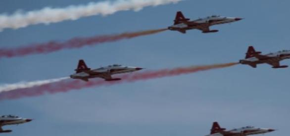 Zespół Turkish Stars podczas Aerofestivalu 2015