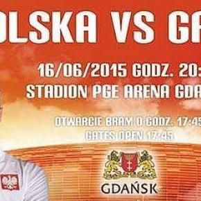 Towarzyski mecz Polska-Grecja na PGE Arenie.