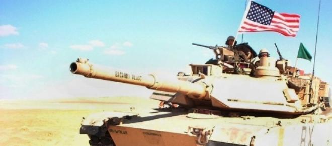Tanc american pregătit de luptă