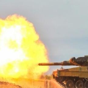 Armament greu NATO în acţiune