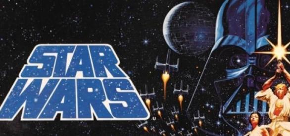 Оригинальный постер Звёздных Войн