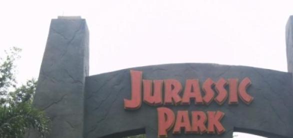 Вход в Парк Юрского Периода