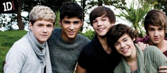 El quinteto One Direction.