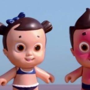 Nivea's UV-sensitive doll