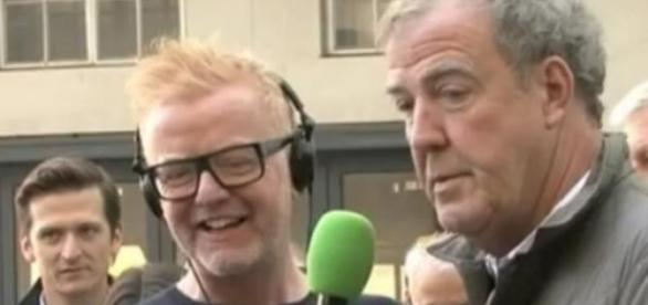 Chris Evans i Jeremy Clarkson: kadr YouTube