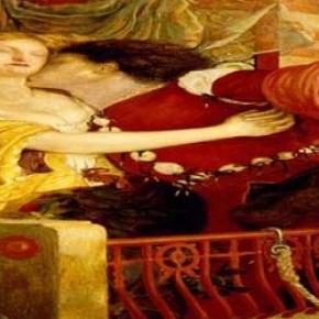 Romeo si Julieta la balcon