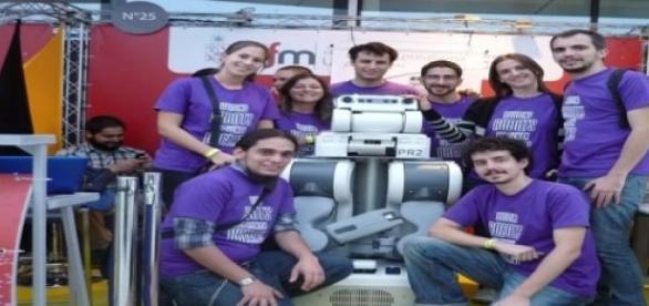 El Club de Robótica en la Feria del Libro