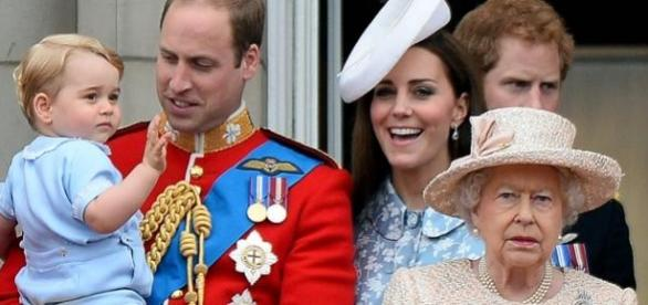The Dukes of Cambridge at 'Trooping the Colour'