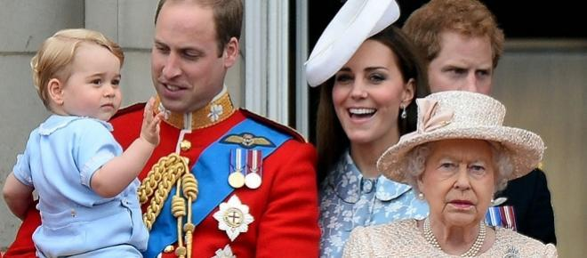 Kate Middleton attends the first official compromise after the birth of baby Charlotte