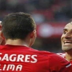 Lima e Jonas de saída do Benfica.