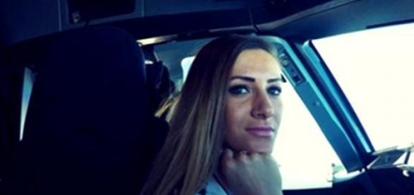 Andreea Liţescu, cea care a impresionat în aviaţie