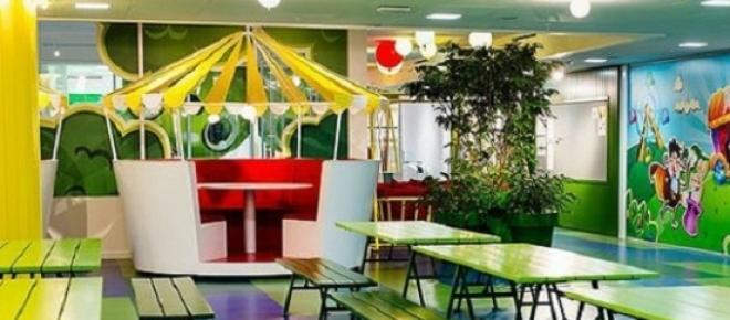 Conheça os espaços do escritório do Candy Crush.
