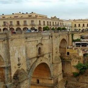 Ronda most Puente Nuevo. fot.J.Lampert