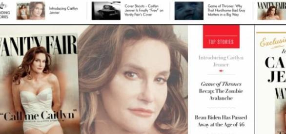 Caitlyn Jenner é a capa da Vanity Fair de Julho.