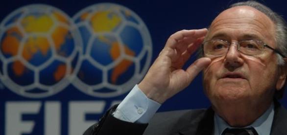 Joseph Blatter, presidente da FIFA