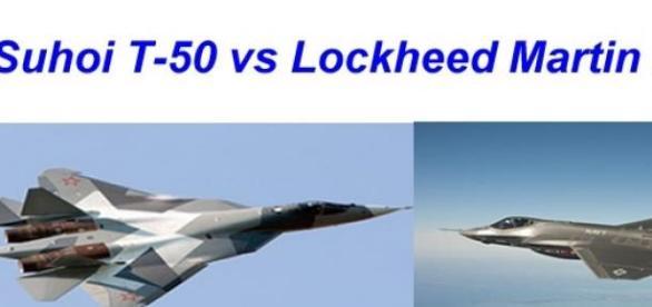 Su T-50 vs LM T-35 super avioanele super puterilor