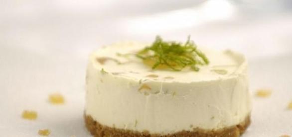 La cheesecake al lime fresco