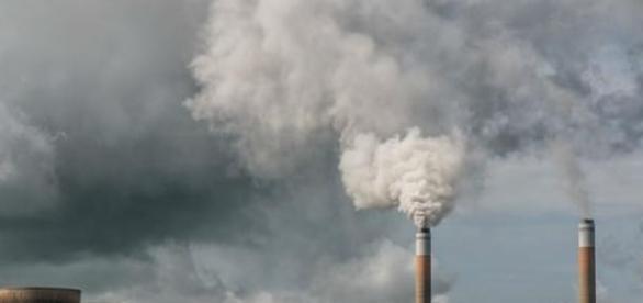 Poluição humana põe a Terra em risco.