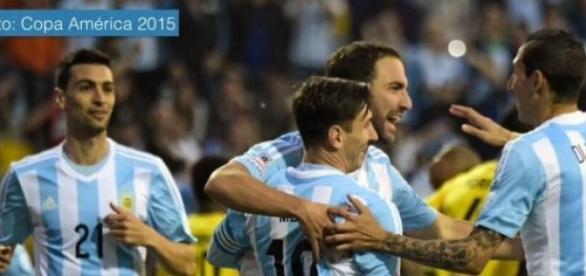 Argentina vence uno a cero a Jamaica